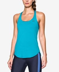 Under Armour Mesh Coolswitch Racerback Tank Top Island Blue
