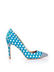 Lucy Choi London Lulu Heart Heel Blue