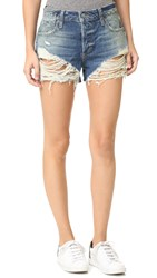 Joe's Jeans Collector's Edition Charlie High Rise Shorts Zora