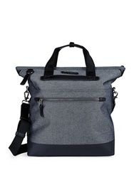 Tumi Dalston Perch Convertible Backpack Tote Grey