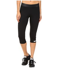 Adidas By Stella Mccartney The Performance 3 4 Tights Ax7063 Black Women's Casual Pants