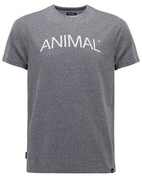 Animal Graphic Tee Charcoal