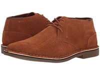 Kenneth Cole Reaction Desert Sun Rust Lace Up Boots Red