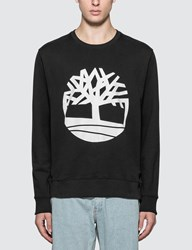 Timberland Core Tree Logo Crewneck Sweatshirt Black