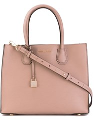 Michael Michael Kors Jet Set Travel Tote Women Leather One Size Pink Purple
