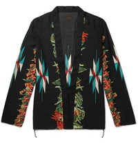 Kapital Printed Voile Jacket Black