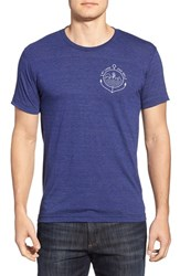 Men's Casual Industrees 'By Land And Sea' Graphic Crewneck T Shirt