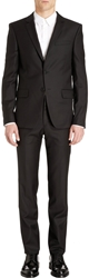 Givenchy Solid Twill Suit Black