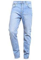 Kiomi Jeans Tapered Fit Light Blue Bleached Denim