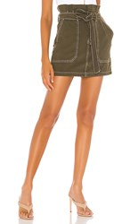 Free People Splendor In The Grass Skirt In Olive. Army