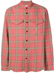 Zadig And Voltaire Plaid Shirt Pink