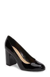 Bella Vita Women's 'Nara' Block Heel Pump Black Patent