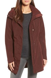 The North Face Women's Laney Ii Trench Raincoat Sequoia Red