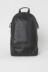 Handm Backpack With Two Compartments Black