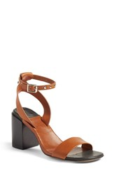 Rag And Bone Women's 'Gia' Block Heel Sandal Tan