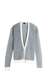 Theory Stripe Cardigan