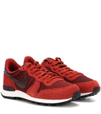 Nike Internationalist Premium Sneakers Red