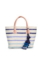 Hat Attack Small Provence Tote Bag Shades Of Blue