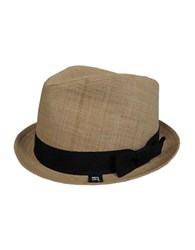 Block Elco Banded Straw Hat Natural