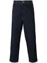 Societe Anonyme 'Summer Ginza' Cropped Trousers Blue