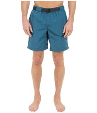 The North Face Belted Guide Trunks Blue Coral Men's Shorts