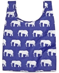 Baggu Baby Reusable And Packable Shopping Bag Elephant Blue