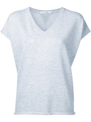 Rag And Bone Classic T Shirt Women Cotton Spandex Elastane Modal S Grey