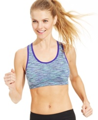 Ideology Space Dyed Seamless Mid Impact Sports Bra