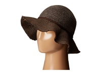 San Diego Hat Company Cth4121 Chenille Crown With Herringbone Fabric Floppy Brim Brown Caps