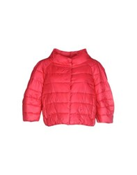 Elisabetta Franchi Coats And Jackets Jackets Women Coral