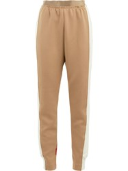 Undercover Loose Track Trousers Nude And Neutrals
