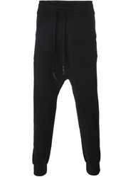 11 By Boris Bidjan Saberi Drop Crotch Sweatpants Black