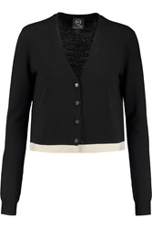 Mcq By Alexander Mcqueen Two Tone Wool Cardigan