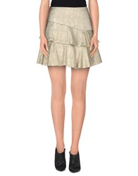 Paul And Joe Skirts Mini Skirts Women Platinum