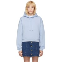 Mcq By Alexander Mcqueen Blue Classic Swallow Hoodie