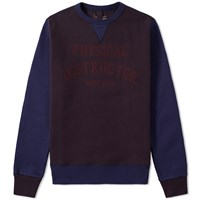 Nigel Cabourn Instructor Crew Sweat Black