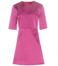 Mcq By Alexander Mcqueen Satin Dress Pink