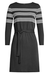A.P.C. Striped Cotton Dress