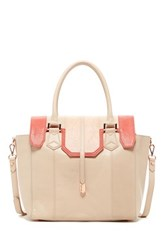 Treesje Spencer Leather Tote Pink