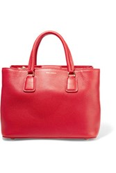 Dolce And Gabbana Textured Leather Tote