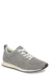 Native Shoes Cornell Perforated Sneaker Pigeon Grey Shell White