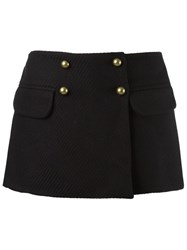 Andrea Bogosian Pocket Skorts Black