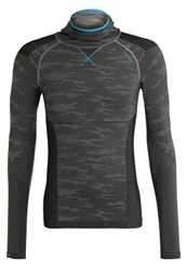 Odlo Evolution Warm Undershirt Black Grey