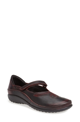 Naot Footwear 'Matai' Mary Jane Volcanic Red Leather