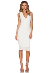 Nookie Catch And Kiss Cross Back Dress Ivory