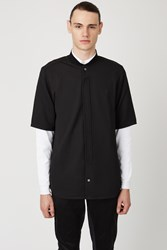 Opening Ceremony Double Layer Pique Shirt Black