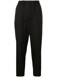 Antonelli Cropped Trousers Black