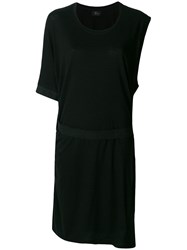 Lost And Found Ria Dunn One Sleeve T Shirt Dress Black