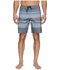 Rvca Islands Trunk Slate Swimwear Metallic