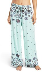 Minkpink Women's 'Clear Night Sky' Pajama Pants Blue Multi